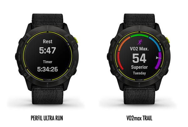 Nuevo perfil UltraRun y V02max para trailrunning del Garmin Enduro.