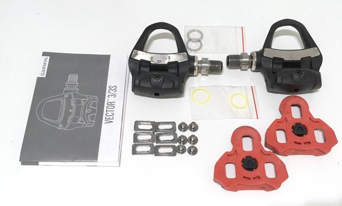 Unboxing Garmin Vector 3: pedales con medidor de potencia para bicicletas de carretera.