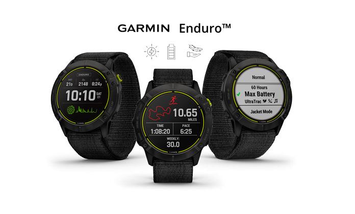 Nuevo Reloj GPS Garmin Enduro para ultras
