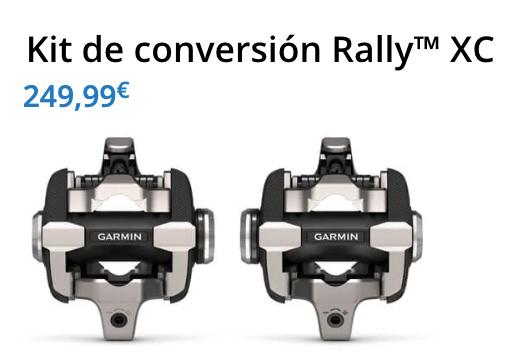 Kit de conversión XC para pedales Garmin Rally RS, RK y VECTOR 3