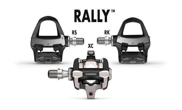 nuevos potenciómetros de pedal Garmin Rally para carretera y mountain bike (MTB SPD)