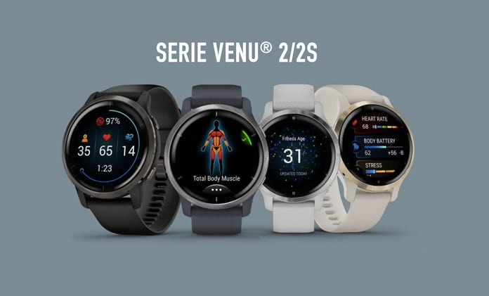 Nuevos Garmin Venu Series 2/2s GPS AMOLED
