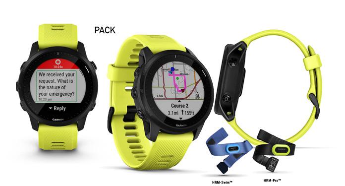 Garmin Forerunner 945 LTE pack sensores triatlón