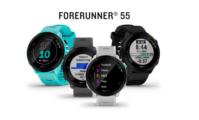 análisis y opinión del nuevo garmin forerunner 55 gps para running