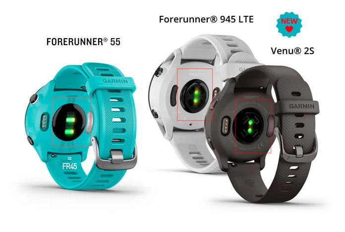 Diferencias pulsómetro óptico Forerunner 55 y nuevos Garmin