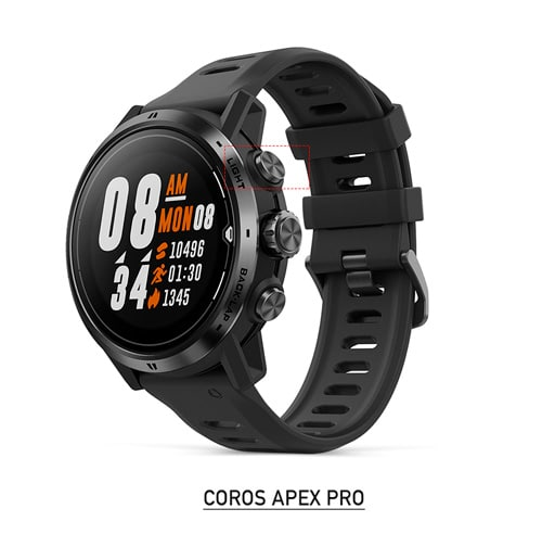 coros apex pro para running, trail y