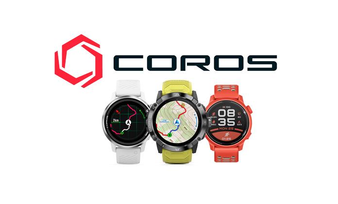 Coros marca reloj gps para correr, triatlón y montaña