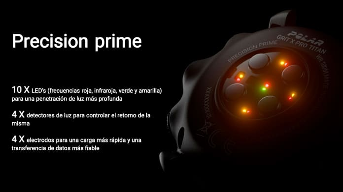 Pulsómetro óptico Polar Grit X Pro